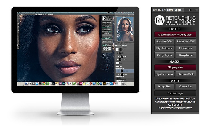 Retouching Academy Beauty Retouch Panel 2.0