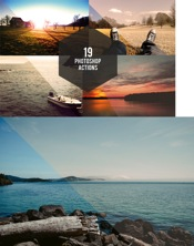 CreativeMarket 19 Photoshop Actions icon