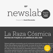 Newslab Font Family icon
