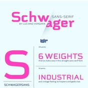 Schwager Sans Font Family icon