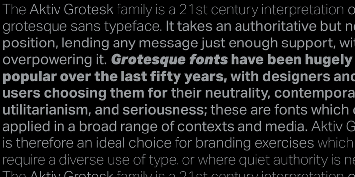 Aktiv Grotesk Font Family Free Download | Mac Torrent Download