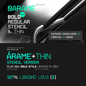Arame Font Family 8 Fonts icon