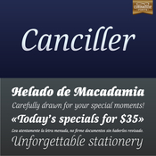 Canciller Font Family 6 Fonts icon