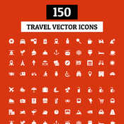 Creativemarket 150 Travel Vector Icons 129002 icon