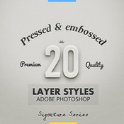 Creativemarket 20 Best Pressed and Embossed Styles 11896 icon