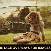 Creativemarket 5 Vintage Overlays for Images V2 90000 icon