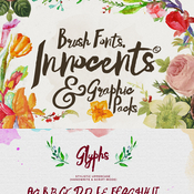 Creativemarket Innocents fonts and Graphic packs 142436 icon