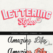 Creativemarket Lettering Styles Kit 101786 icon