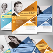 Creativemarket Multipurpose Business Flyer Poster 83412 icon
