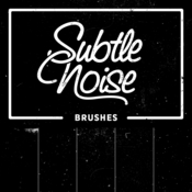 Creativemarket Subtle Noise Brushes 90213