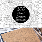 Creativemarket Vector Hand Drawn Elements Vol2 128946 icon