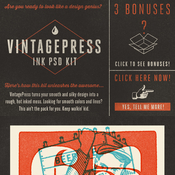 Creativemarket VintagePress Ink Plate Effects 72177 icon