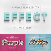 Creativemarket Vintage Text Effects Vol 4 73564 icon