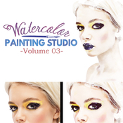 Creativemarket Watercolor Painting Studio Vol 03 86771 icon