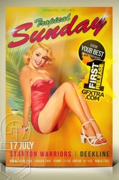 PIN UP Flyer
