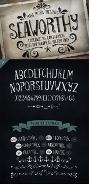 Seaworthy Font Family 2 Fonts icon