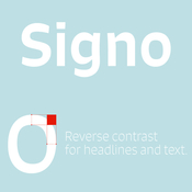 Signo Font Family 12 Fonts icon