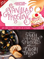 Vanilla Frosting Font Family 3 Fonts
