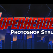 Creativemarket 10 Photoshop Styles Superheroes v1 252171 icon