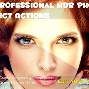 Creativemarket 15 Professional HDR Photo Effect Act 214260 icon