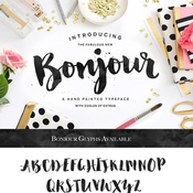 Creativemarket Bonjour Typeface with Extras 221972 icon