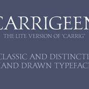 Creativemarket Carrigeen Display Typeface 139186 icon