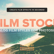 Creativemarket FilmStock Analog Photoshop Actions 144430 icon