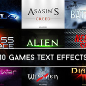 Creativemarket Games Text Effects 219151 icon