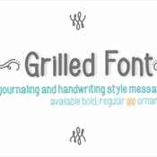 Creativemarket Grilled Font Bold 137511 icon