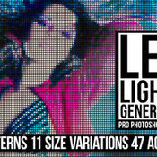 Creativemarket Led Lights Generator PS Actions 222119 icon