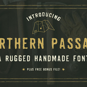 Creativemarket Northern Passage A Handmade Font 224909 icon