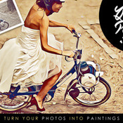 Creativemarket Quick Paint and Cartoonize PS Action 229602 icon