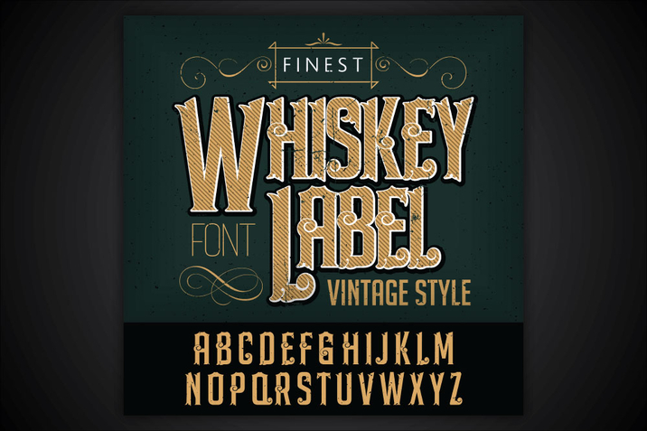 Creativemarket_Whiskey_label_font_and_sample_label_230892_cap01