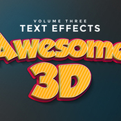Creativemarket 3D Text Effects Vol3 272539 icon