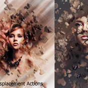 Creativemarket Heart Displacement Ps Action 277990 icon