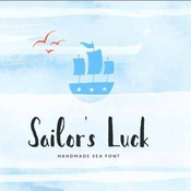 Creativemarket Sailor s Luck Sea Font 288695 icon