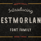 Westmorland display fonts 376915 icon