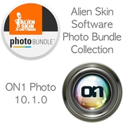 Alien skin software photo bundle collection on1 photo 10 1 0 logo icon