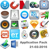 Application pack for mac 21 02 2016 logo icon
