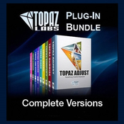 Topaz labs photoshop plug in bundle logo icon