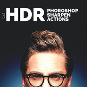 3 hdr photoshop sharpen actions 11302871 icon