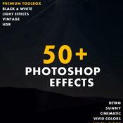 50plus photoshop effects 10102349 icon