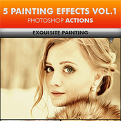 5 painting effects vol1 photoshop actions 11967327 icon