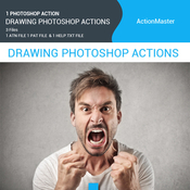 Drawing photoshop action 11649386 icon