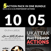 Graphicriver bundle of 05 photoshop action packs 11495128 icon