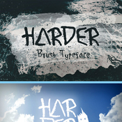 Harder brush typeface 11579244 icon