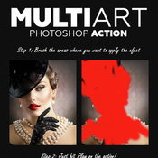 Multiart photoshop action 10815669 icon