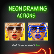 Neon drawing actions 11977344 icon