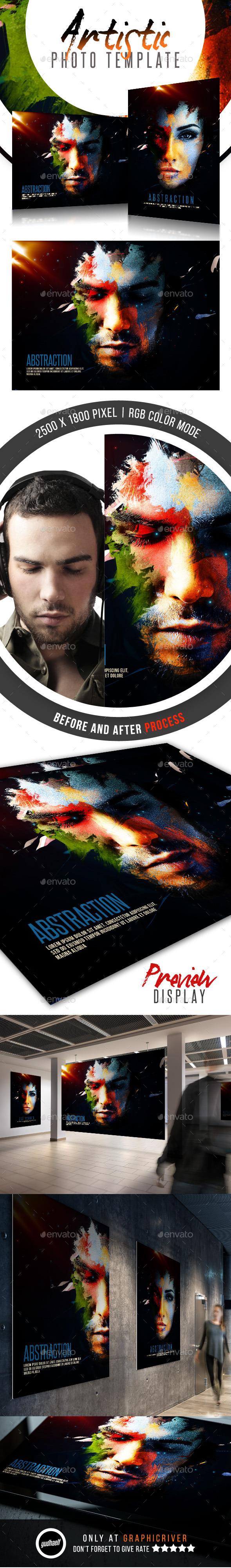 Abstraction - Artistic Photo Template