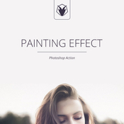 Painting effect photoshop action 11684586 icon